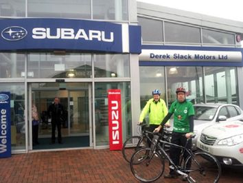 Subaru Appeal For Japan Cycle Relay
