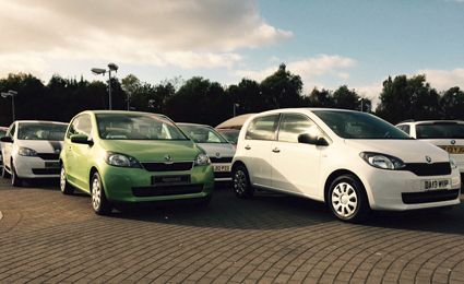 Citigo and Yeti used car awards