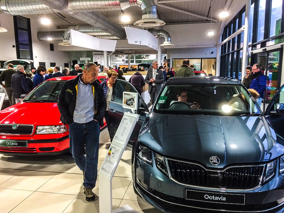 KODIAQ and New Shape OCTAVIA Launch Evening
