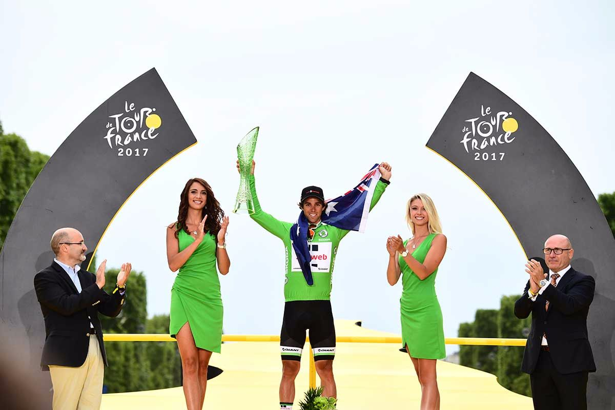 Tour De France Winner Lifts Skoda Trophy