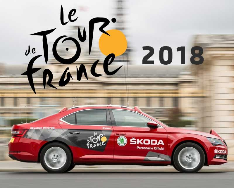 Škoda support Tour De France for the 15th Time