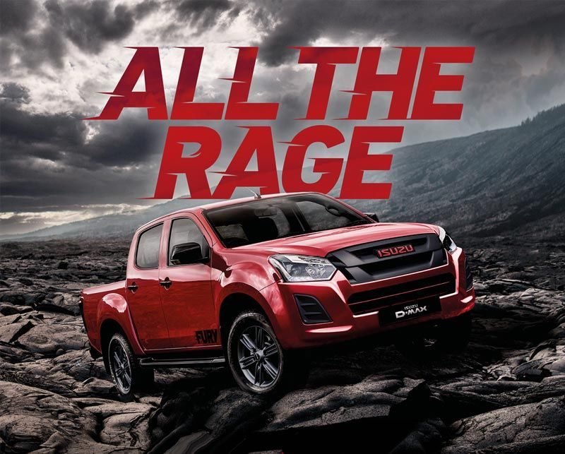The New Isuzu Fury- Soon to be unleashed