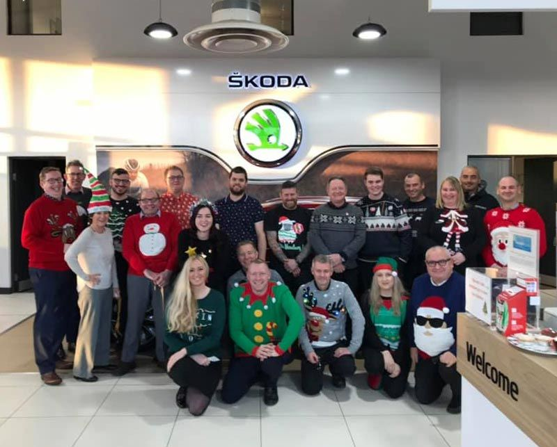 Festive Fun on Christmas Jumper Day