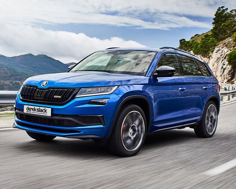 The new ŠKODA KODIAQ vRS: Performance, everyday comfort and a generous amount of space