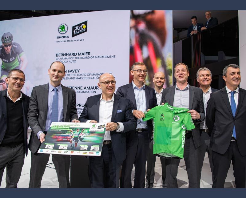 ŠKODA extends sponsorship deal until 2023