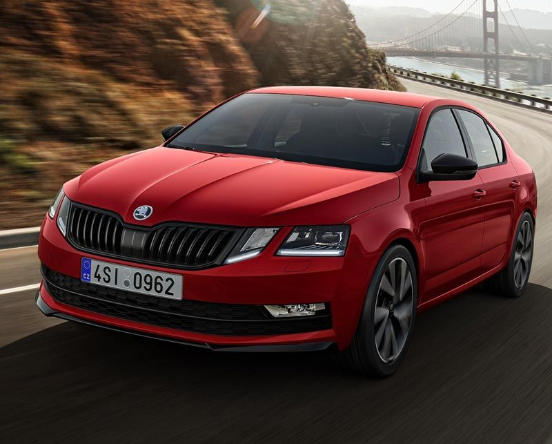 New Octavia added to ŠKODA's acclaimed SportLine range