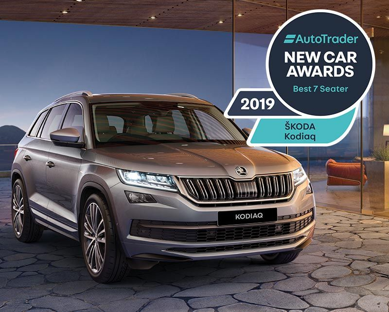 KODIAQ named best seven seater at Auto Trader awards
