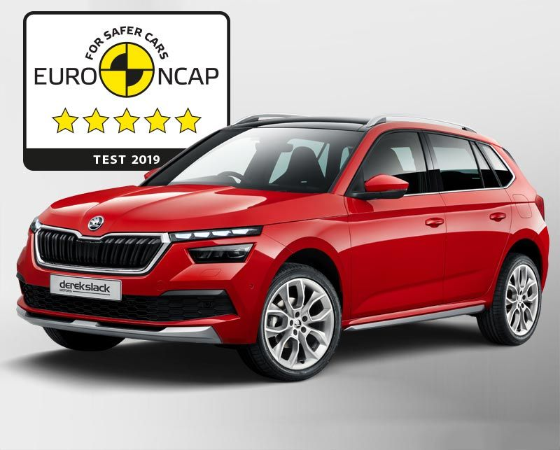 Škoda Kamiq scores maximum five stars in Euro NCAP test