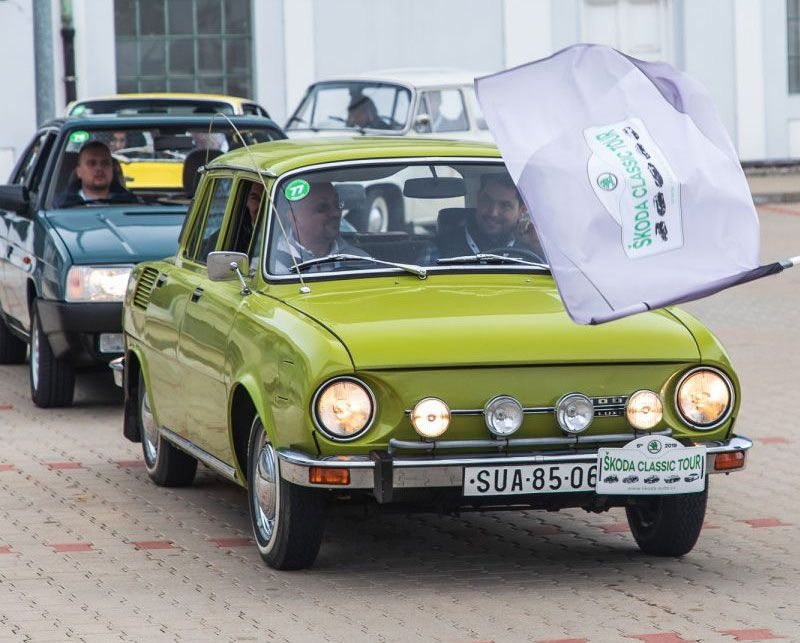 Classic Cars Tackle the Škoda Tour