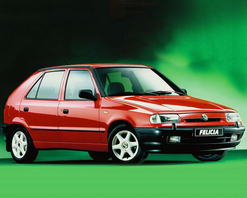 25 years of the ŠKODA Felicia