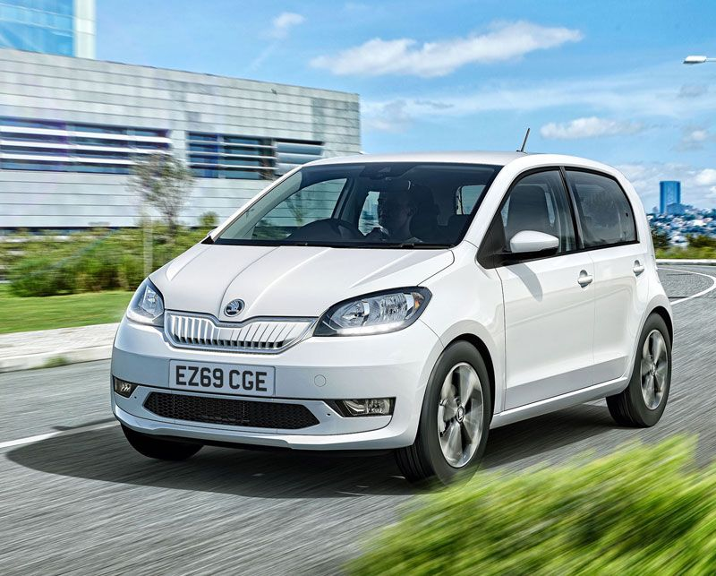 ŠKODA electrifies city car sector with new CITIGOe iV