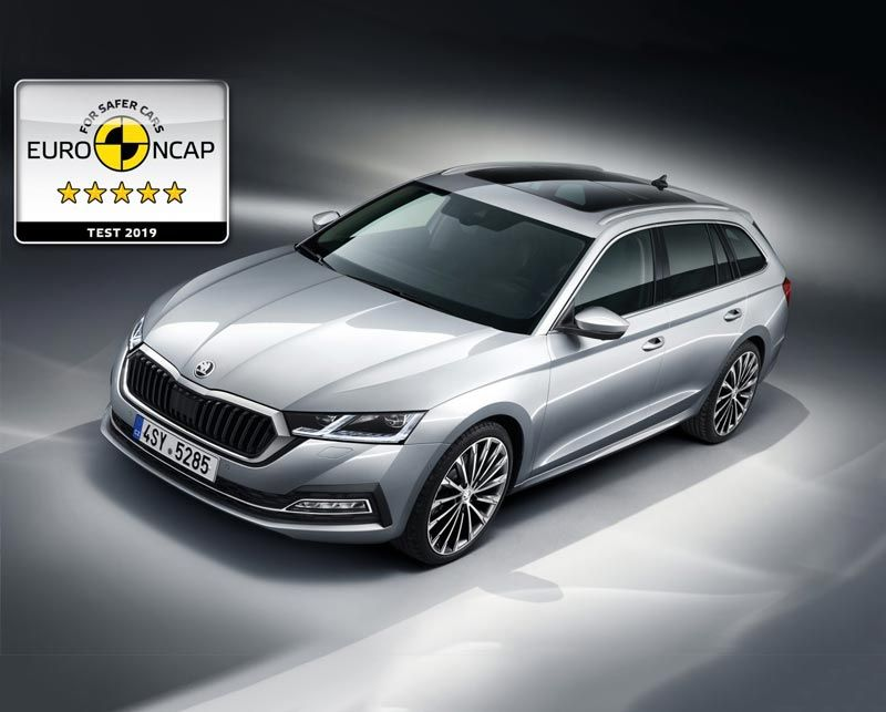 Octavia Combi Achieves 5 Star NCAP